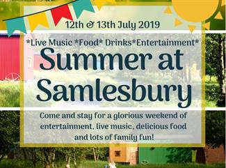 Summer at Samlesbury